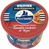 Petit navire les tartinades de thon tomates séchées & thym 125g