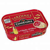 Connétable 1/5 sardines à l'huile d'olive vierge extra 135g