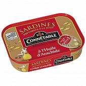 Connétable 1/5 sardines à l'huile d'arachide 135g