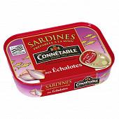 Connetable 1/5 sardines à l'huile d'olive et aux échalotes de bretagne 135 g