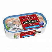 Connétable foie de morue nature au sel de Guérande 1/6 121g