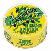 Le savoureux thon albacore à l'huile d'olive vierge extra 1/5 160g