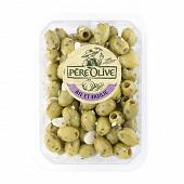 Père Olive olives ail & basilic 400g