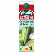 Alvalle gazpacho concombre menthe brique 1l