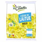 Les Crudettes salade laitue format maxi sachet 300g