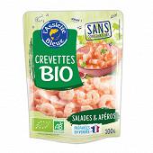 L'Assiette Bleue crevettes nature décortiquées cuites bio 100g