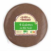 La crêpe de Brocéliande galettes de blé noir bio origine France 260g