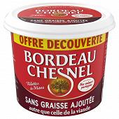 Bordeau Chesnel rillettes du Mans de porc sans graisse ajoutée 220g offre découverte