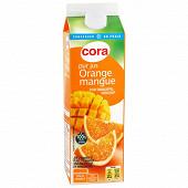 Cora pur jus d'orange et mangue 1l
