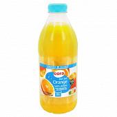 Cora pur jus orange sans pulpe frais 1l