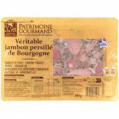 Patrimoine gourmand jambon persillé de Bourgogne tranche 180g