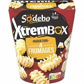 Sodebo Xtrem Box radiatori 4 fromages 400g