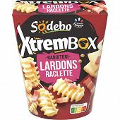 Sodebo Xtrem Box Radiatori lardons raclette 400g