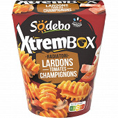 Sodebo Xtrem Radiatori lardons tomates champignons 400g