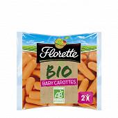 Florette baby carottes bio 150g