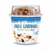 Pause Gourmande nature +mix choco 225g