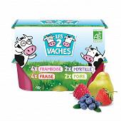 Les 2 Vaches les ptits miams aux fruits 12x50g