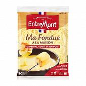 Entremont Ma fondue à la maison fromage rapé pour fondue 400g