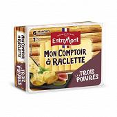 Entremont Raclette 3 poivres Mon Comptoir à raclette 28%mg 140g