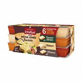 Entremont soirée raclette assortiment barquette 30 tranches 660g