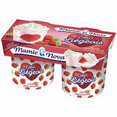 Mamie Nova fruit gourmand coeur fraise des bois 2x120g