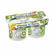 Mamie Nova yaourt double plaisir kiwi 2x140g