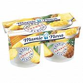 Mamie Nova double plaisir ananas 2x140g