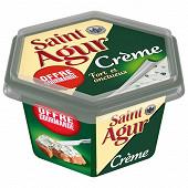 Saint agur crème 155g offre gourmande