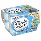 Perle de lait aromatisé panaché 8x125g offre découverte