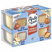 Perle de lait nuances créatives 4x95g offre découverte