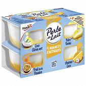 Perle de lait nuances exotiques 4x95g offre découverte
