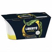 Liberté yaourt crémeux sur lit de citron zeste confit 2x115g