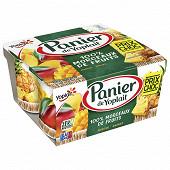 Panier de Yoplait mangue ananas 4x130g prix choc