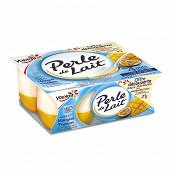 Perle de lait sur lit de mangue passion 4x125g offre découverte