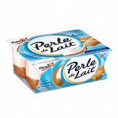 Perle de lait sur lit au caramel 4x125g