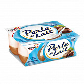 Perle de lait sur lit à la crème de marrons 4x125g