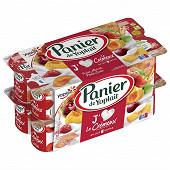 Panier de Yoplait crémeux fruits panaché 16x130g