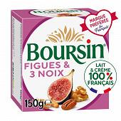 Boursin figue & 3 noix 150g
