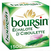Boursin échalote & ciboulette 150g