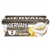 Gervais le yaourt sur lit d'agrumes 2x115g