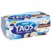 Yaos yaourt à la grecque stracciatella 4x125g