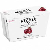 Siggi's yaourt skyr 2% framboise 2x140g
