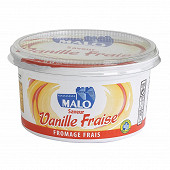 Malo fromage frais 40% saveur vanille fraise 500g