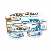Malo fromage frais 7%mg à la noix de coco 4x100g