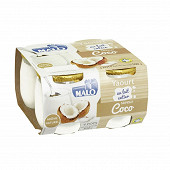 Malo yaourt saveur coco 4 x 125g
