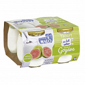 Malo yaourt saveur goyave 4 x 125g