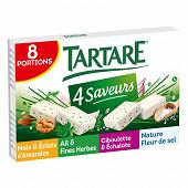 Tartare l'original coffret 4 saveurs - 8 portions 33%mg - 33g