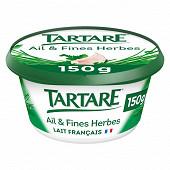 Tartare ail et fines herbes goût unique pot 150g