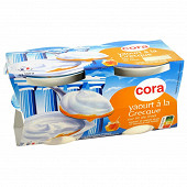 Cora yaourt brassé sucré sur lit au miel 4x150g