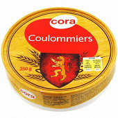 Cora coulommiers au lait pasteurisé 24 % MG 350 G